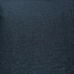 Ткань на отрез кашкорсе 3-х нитка с лайкрой меланж цвет синий
