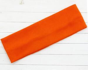 Повязка на голову (оранжевая)