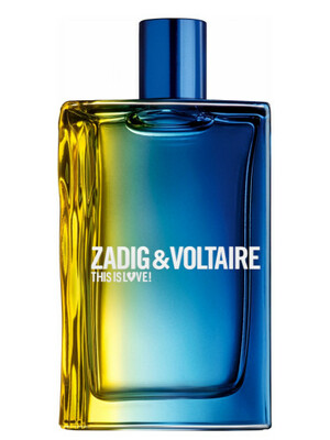 ZADIG & VOLTAIRE THIS IS LOVE men 100ml edp TESTER