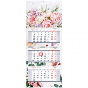 Календарь квартальный 3 бл. на 3 гр. OfficeSpace Premium