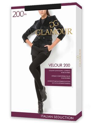 Колготки женские Velour 200 (60/1) Glamour  Collant