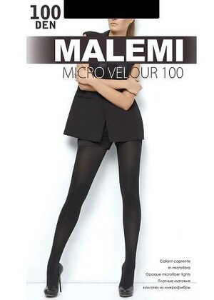 Колготки женские Micro Velour 100 (60/6) - MALEMI