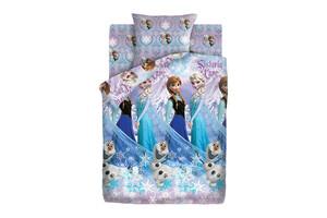 Подростковое постельное белье Холодное сердце Сёстры и Олаф 1.5-спальный