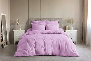 Светло-розовый, 2 сп с евро простыней