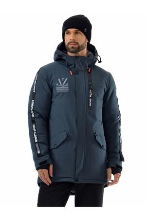 Мужскaя зимняя куртка-парка Azimuth A 8522 Темно-серый