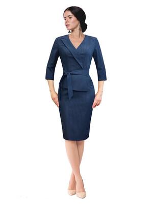 Нэви платье ID 3332 синее в полоску