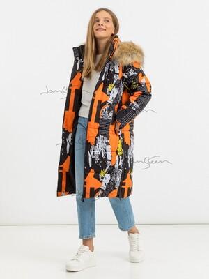 Пальто для девочек (био-пух)
