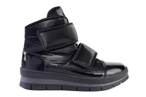 14039DR ботинки женские черный флэш