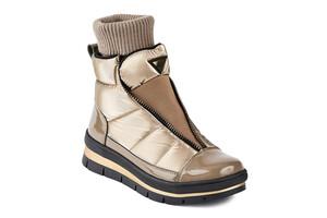 14038DR ботинки женские золотой флэш