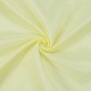Ткань на отрез таффета 150 см 190Т цвет молочный 0103