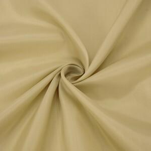 Ткань на отрез таффета 150 см 190Т цвет бежевый 1113