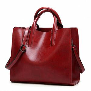 Женская кожаная сумка 302 RED