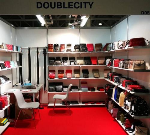 Логотип Doublecity - сумки и кошельки оптом от производителя!