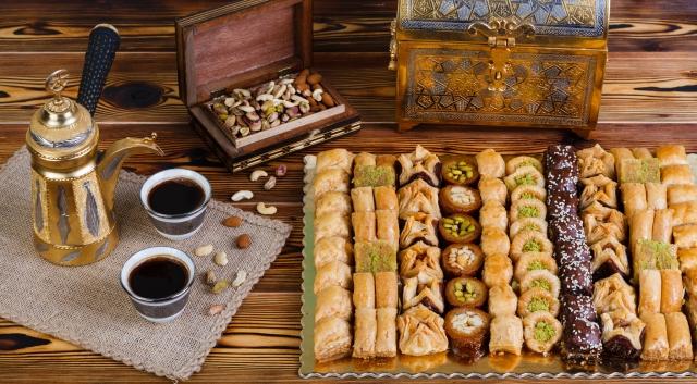 PATE D'OR, Koska, Mehmet Efendi. Лучшие сладости из Турции и Ливана+легендарный турецкий кофе Mehmet Efendi+диабетические сладости!