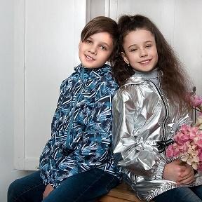 СП45  KidStyle - яркая, модная верхняя одежда для детей и подростков