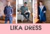 СП112 Lika Dress. Ивановский трикотаж для всей семьи и дома! РАСПРОДАЖА до 50%!!!