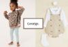 GEORGE (ASDA) яркая одежда для всей семьи из Великобритании.