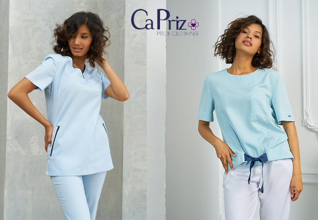 Современная медицинская одежда CaPriz. Городской стиль в медицинской одежде. Всегда презентабельно, стильно и безупречно