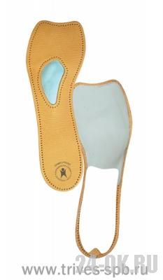 СТ-231 Полустельки ортопедические для модельной обуви с каблуком до 7 см (кожа)