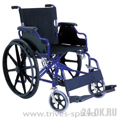 CA931B Кресло-коляска TRIVES (с откидными подлокотниками и съемными подножками)