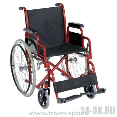 CA923E Кресло-коляска TRIVES (со съемными подлокотниками и подножками)