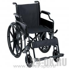 CA991LBКресло-коляска TRIVES (с откидными подлокотниками и съемными подножками)