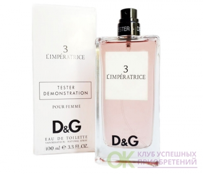 DOLCE & GABBANA D&G Anthology 3 L'Imperatrice lady tester 100ml edt