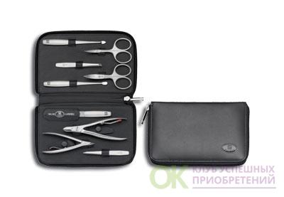 Маникюрный набор 9 пр TWINOX черный