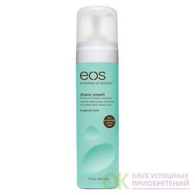 eos Shave Cream Tropical Fruit 7.0 oz.