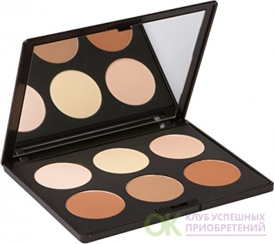 Contour Kit and Highlighting Powder Palette (Cruelty Free and Paraben Free) by Elizabeth Mott