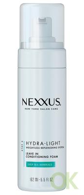 Nexxus Hydra Light Leave In Conditioning Foam 5.5 oz