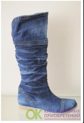 Сапоги джинсовые 311-340-39-К-01