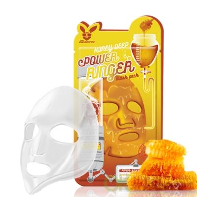 Elizavecca Honey Deep Power Ringer Mask Pack Питательная маска для лица с медом, 23мл.