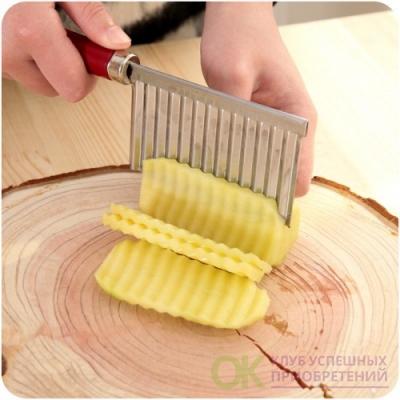 Нож для рельефной нарезки овощей и фруктов