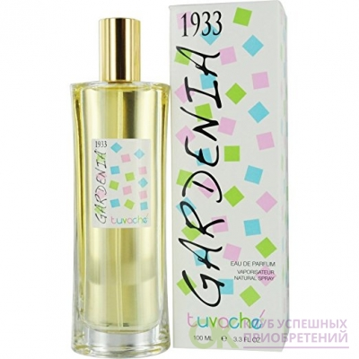 Tuvache Gardenia 1933 Eau De Parfum Spray for Women, 3.3 Ounce