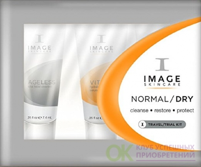 Image Skincare Travel Kit - Normal-Dry Cleanse - Restore - Protect