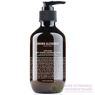 Grown Alchemist - Hand Wash: Sweet Orange, Cedarwood, Sage (10.14 Fl. Oz.) 300 Milliliter