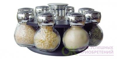 Набор для специй 8 Jars Spice Rack Set