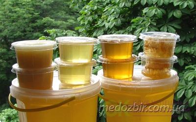 Набор пробников №1, 5 шт по 100 гр. Светлые меда