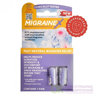 MigraineX® clinically proven to prevent Travel and Weather related migraine symptoms