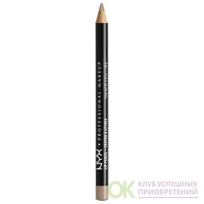 NYX Professional Makeup Slim Lip Pencil,Nude Truffle