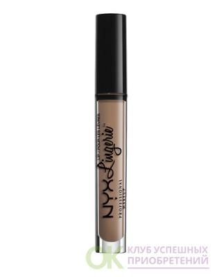 NYX Professional Makeup Lip Lingerie Liquid Lipstick, Corset
