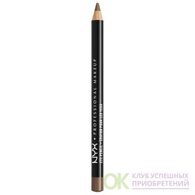NYX Professional Makeup Slim Eye Pencil, Light Brown 0.04 oz.