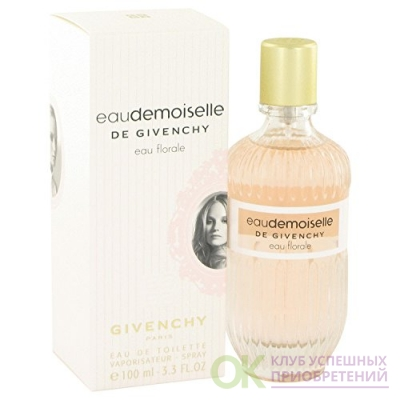 Eau demoiselle Eau Florale by Givenchy Eau De Toilette Spray (2012) 3.3 oz for Women