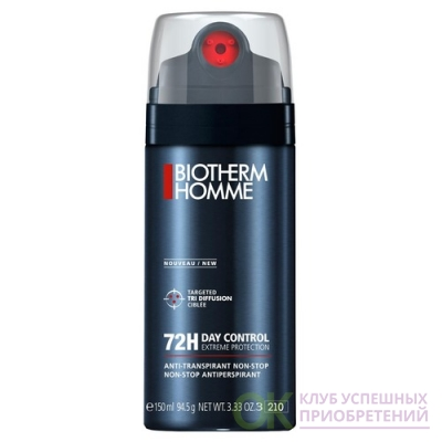 BIOTHERM  Homme Day Control Extreme Protection 72H 3818380/1583359 Дезодорант спрей 150мл