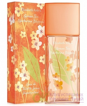 ELIZ.ARDEN GREEN TEA Nectarine Blossom lady  50ml edt