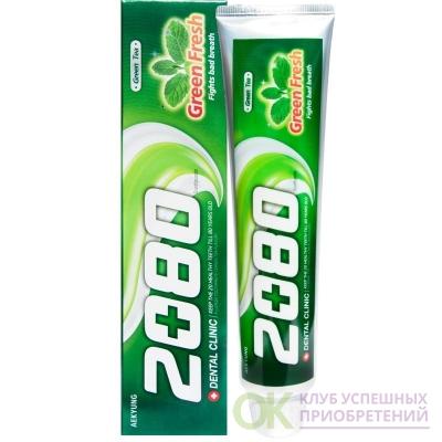 Зубная паста Dental ClinicFresh Up Зеленый чай 120г