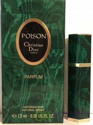 CHRISTIAN DIOR POISON lady 7.5ml parfum VINTAGE mini
