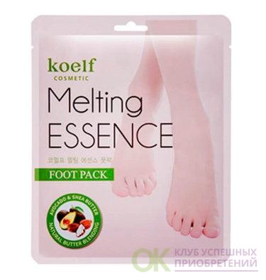 [KOELF] Маска-носочки д/ног СМЯГЧАЮЩАЯ Melting ESSENCE Foot Pack, 16 гр