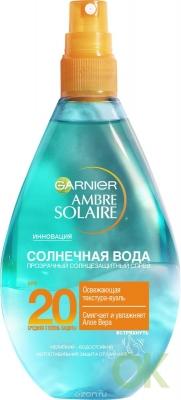 Garnier АС Солнечная вода 318 Прозрачный солнцезащит. спрей СПФ20  150мл